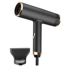 Professional Negative Ion Hair Blower Powerful Blowing Anion Hair Dryer Overheating Protect Low Noise Hair Drying Styling Tool