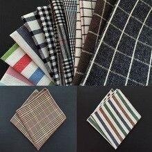Матагорда высокое качество хлопок платок плед платок мужские карман квадрат банкет карман полотенце одежда аксессуары шейный платок шарф