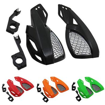 цена на 2Pcs/Set 7/8 inch Universal Colorful Motorcycle ATV Handlebar Hand Guard Protective Cover Motorcycle Accessories