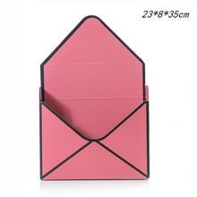 1pcs Envelope Handbag Flower Box 23*8*35cm Manual Folding Shop Wedding Packaging Materials Supplies