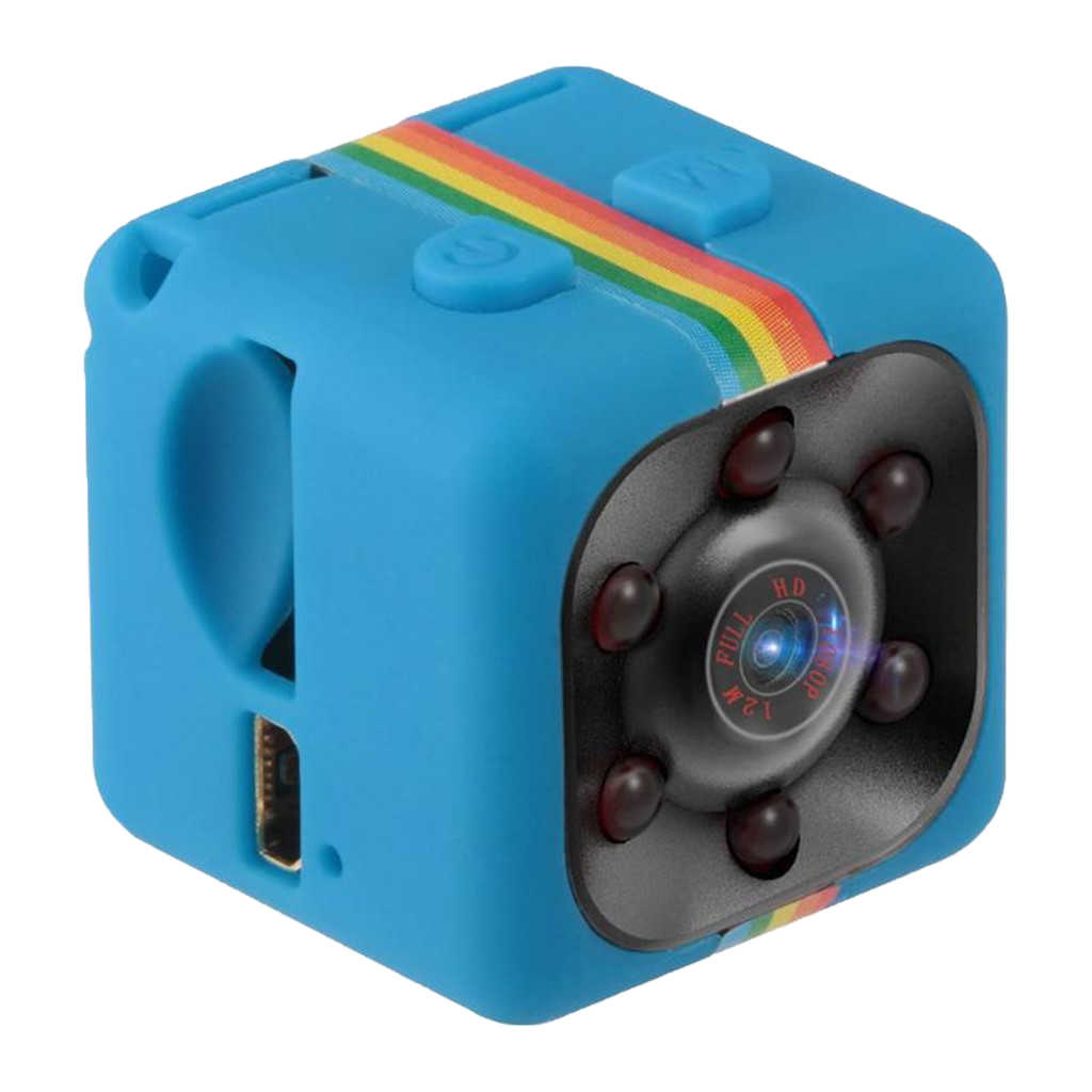 Quelima SQ11 Mini Dvr Recorder Camera 120 Graden Hd Auto Recorder Blauw