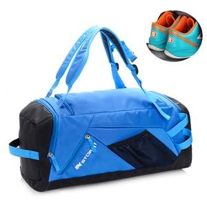Image 2 - Esportes ginásio saco à prova dwaterproof água sacos de esportes para homens fitness yoga treinamento bolsa com compartimento sapato viagem saco do esporte 30l