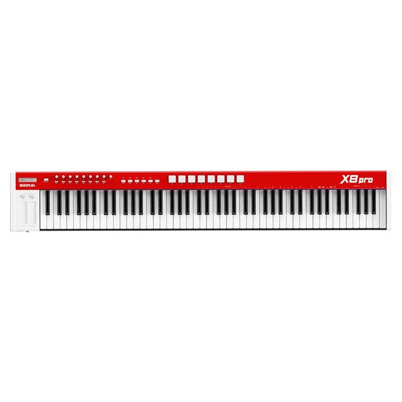 Music MIDI Keyboard X6/X8 PRO Professional Semi-weighted Sound Source 61/88 Key Pad Music Keyboard