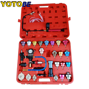 Image 1 - 34pcs Radiator Pressure Compression Tester Car Repair Water Tank Accurate Easy To Use Cooling System Leak Detector