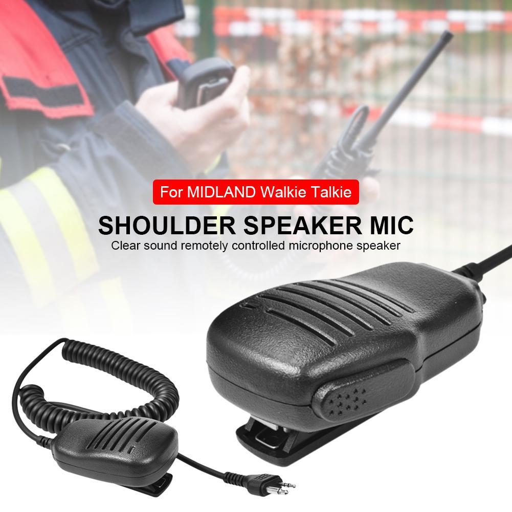 Portable Handheld Microphone Shoulder Speaker MIC For GXT / Alan / Midland Series Walkie Talkie G6/G7/G8/G9 GXT550 GXT2050VP4