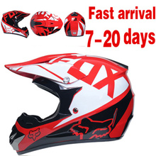 Motorcycle Helmet ATV Road Cycling Motocycle Adult S/M/L/XL With Mask+Goggles+Glove