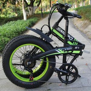 Image 3 - S9F رائجة البيع دراجة كهربائية 20 بوصة 750 واط/1000 واط موتور 10AH بطارية دراجة كهربائية قابلة للطي