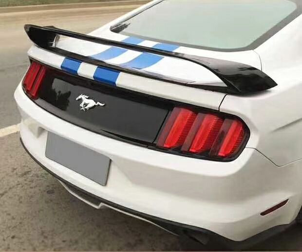 for ford <font><b>mustang</b></font> spoiler GT style High quality ABS material car rear trunk wing <font><b>2015</b></font> 2016 2017 2018 <font><b>2019</b></font> Primer or paint image