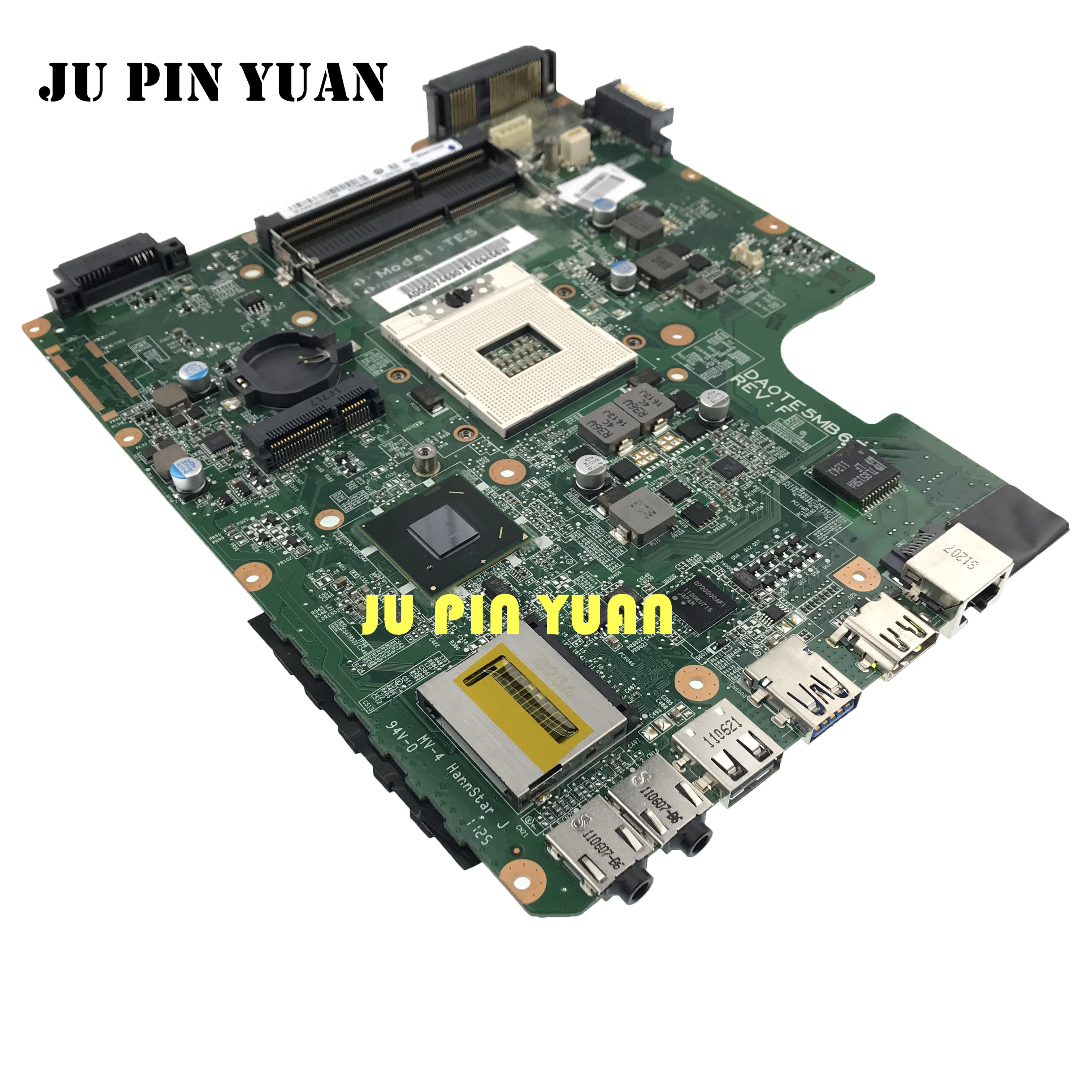Mainboard For Toshiba Satellite L745 L740 DA0TE5MB6F0 A000074690 Laptop Motherboard HM65 All Functions Fully Tested