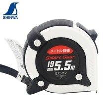 SHINWA Пингвин Метрическая рулетка Линейка SMART GEAR амортизатор Зажим для ремня ремешок 5,5 м