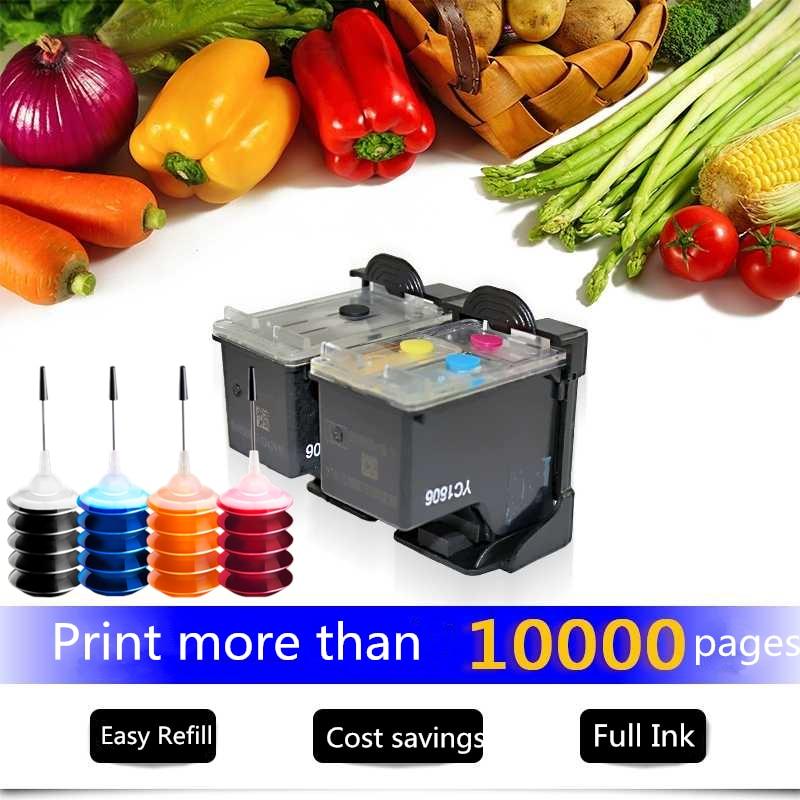 Recargable reemplazo de cartucho de tinta para HP 301 para HP DeskJet serie 1050, 2050, 3050, 2150, 3150, 1010, 1510, 2540 impresora con 4 tinta de Color Original nuevo M0H50A M0H51A cabezal de impresión para HP GT5800 5810 de tinta 5820 tanque 300, 310, 311, 315, 318, 319, 400, 410, 411, 415, 418, 419 cabezal de impresión