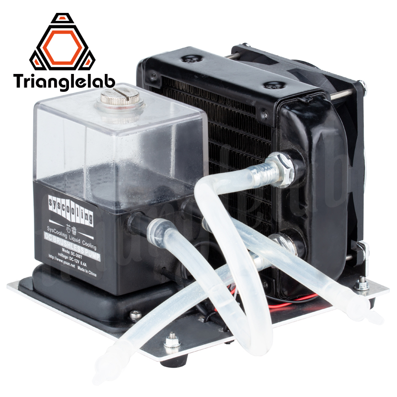Trianglelab Water Cooling  Pump Kit Large Flow For DIY 3D Printer Titan AQUA High Temperature Printing Titan Extruder AQUA