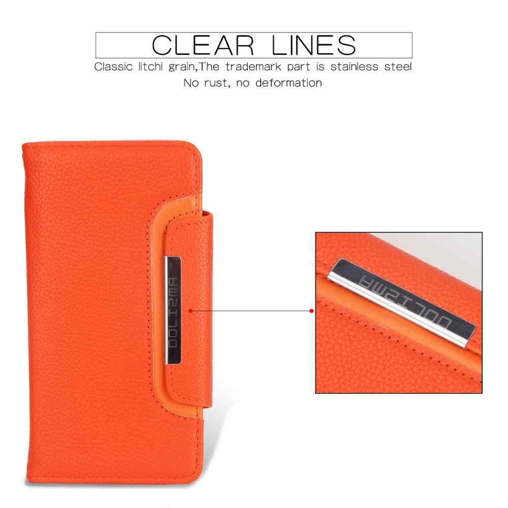 Wielu miejsca na karty etui na iphoneXR przypadku 2 w 1 magnetyczne etui z klapką moda liczi wzór podzielić pokrywa dla iphone XS 11Pro MAX