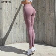 Sport Leggings Tight Fitness-Pants Gymwear Sexy Running-Workout High-Waist Women Quick-Drying