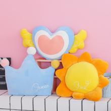 Pillow Cushion Home-Decoration Soft Baby Child for Gifts Sofa-Bed Sun-Crown Comfortable