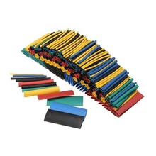 Shrink Tubing Sleeving Wrap Wire Car Electrical Cable Tube kit Heat Color Accessories Mixed Flame Retardant 328pcs