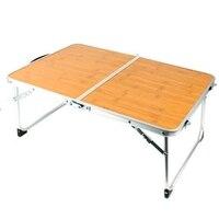 نزهة بسيطة طاولة قابلة للطي دائم المحمولة سبائك الألومنيوم الجدول شواء المشي بارك التخييم السفر في الهواء الطلق خفيفة للغاية مكتب-في مكاتب الكمبيوتر المحمول من الأثاث على