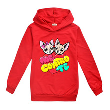 цена на Newest me contro te kids Clothing Hoodies Girls Spring Autumn Sweater Long Sleeve Outwear Baby Clothes jacket children coat