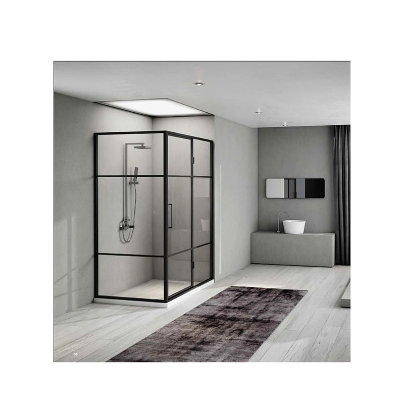 Customized shower room, domestic shower room, partition glass door, bathroom, dry and wet separation bath screen-1