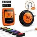 6 зондов Смарт Bluetooth термометр беспроводной дистанционный цифровой барбекю гриль барбекю мясо еда приготовления курильщик термометр