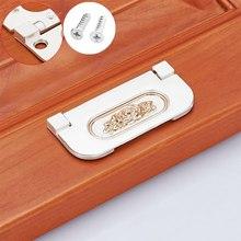 2 шт отверстие 64 мм невидимая дверная ручка шкаф из цинкового сплава шкаф с открывающимися дверцами ящик скрытый ручка платяного шкафа шкаф