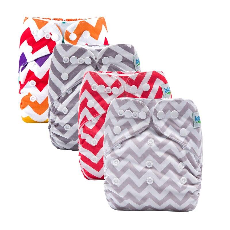 Impresión de la máquina cubierta de pañal lavable de bolsillo reutilizable con bolsillo para bebé pañales ECO tela pañal para 3-13kg W Series