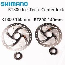 цена на Shimano Ultegra RT800 Ice-Tech Center lock Disc RT800 ROTOR for Road Bike 140mm / 160mm Ultegra 6800 R8000 groupset