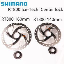 Shimano disco ultegra de trava central, disco de rotor rt800 para bicicleta de estrada 140mm / 160mm ultegra conjunto de 6800 r8000