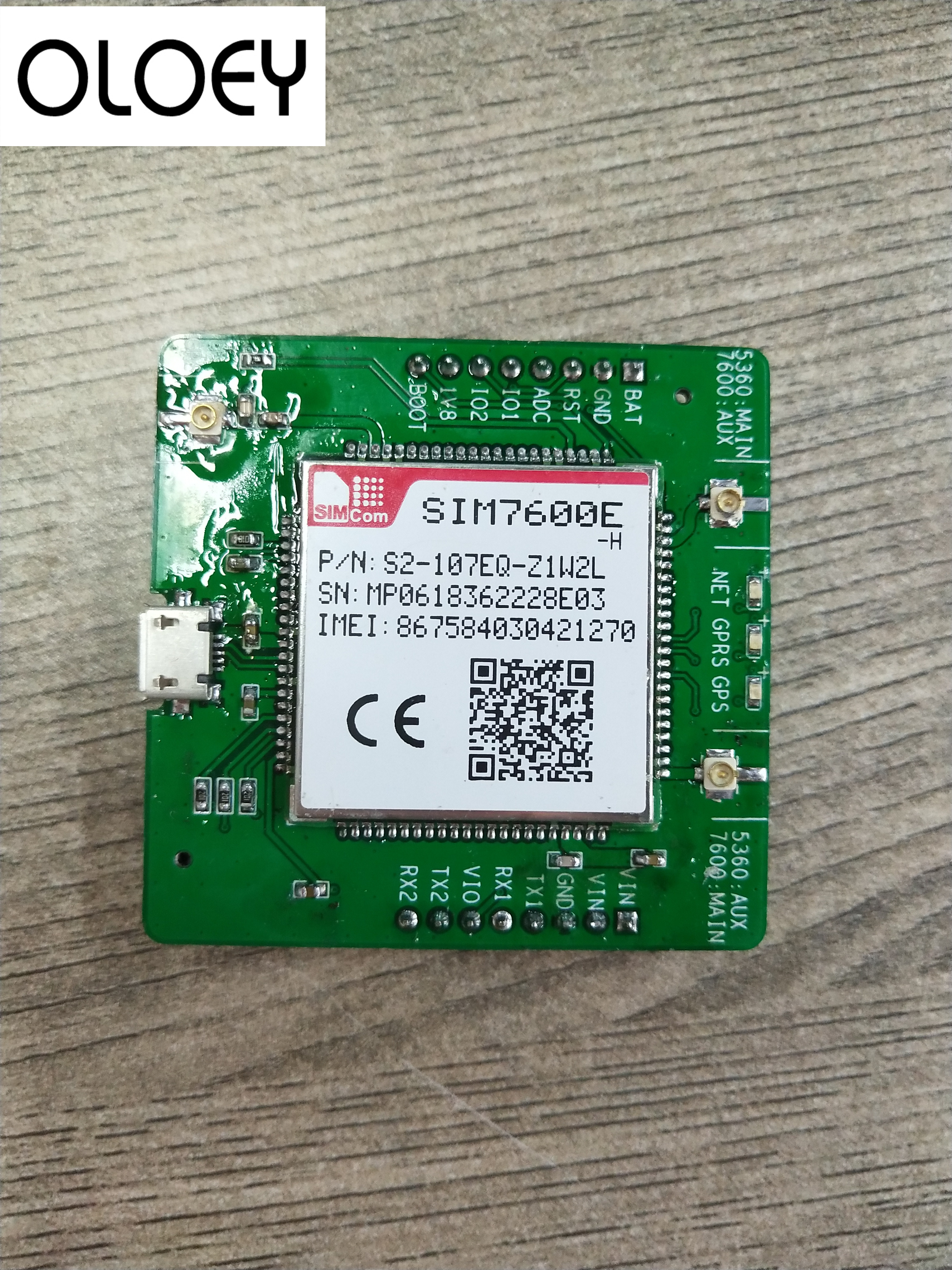 SIM7600E-H Development Board