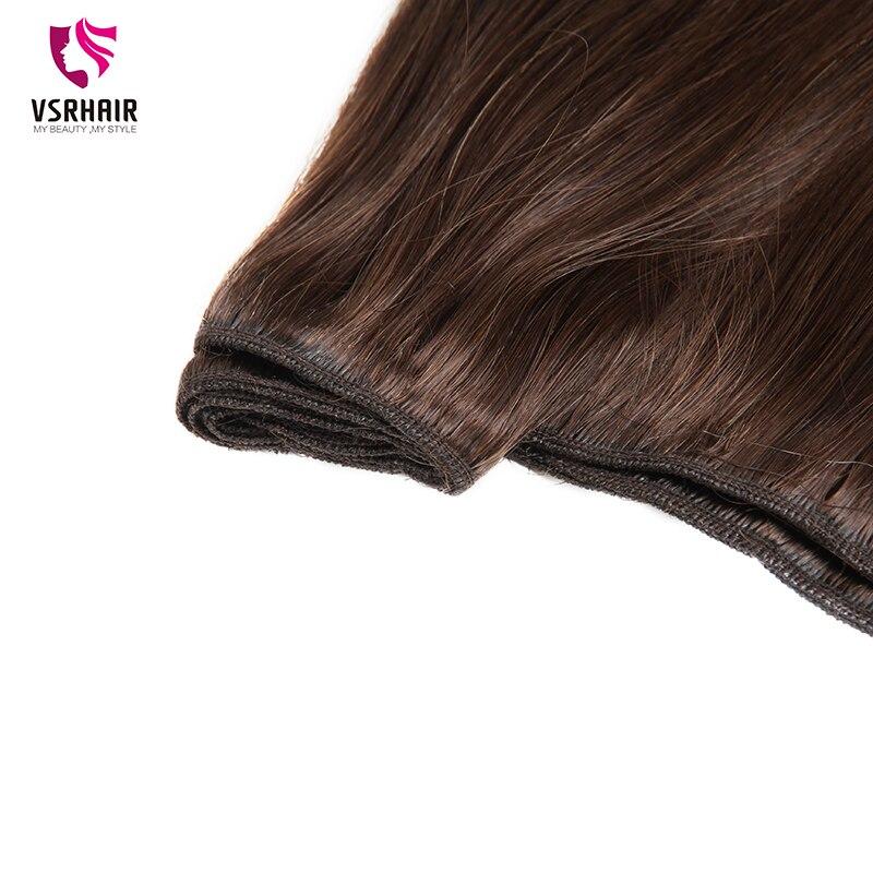 VSR Hair Weaves European Quality Hair Double Drawn Human Hair Straight 100g Machine Remy Hair Weft Hair Extensions