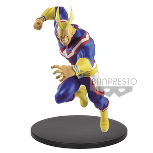 Image 2 - Tronzo Original Banpresto Action Figure My Hero Academia All Might Figure PVC Collection Model Toys All Might Doll Brinquedos