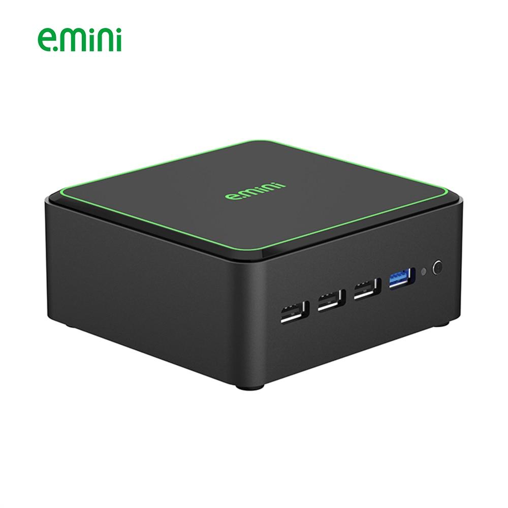 E.mini V8 Intel Nuc Mini Pc Celeron J1900 DDR3L HDMI