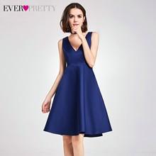 Элегантные атласные платья для выпускного вечера, красивые платья с лямкой на шее без рукавов выше колена, Короткие выпускные платья, вечерние платья, Vestido