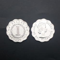 Белиз 1 цент монета случайный год 100% реальные оригинальные коллекционные монеты Unc Подлинная монета