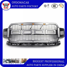 Modified ABS front racing grille grill bumper mesh mask cover fit for F-150 F150 2018