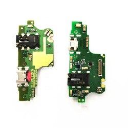 1 sztuk dla Huawei Y9 (2018) portu ładowania OEM PCB pokładzie USB ładowarka do portu i gniazdo słuchawkowe dla Huawei cieszyć 8 Plus