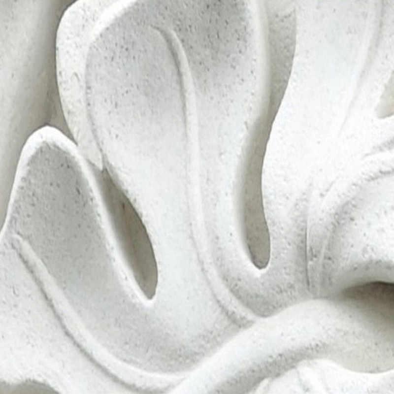 מודרני מופשט טפט 3D לבן גבס עלה תמונה קיר ציורי סלון טלוויזיה ספה שינה בית תפאורה קל לפעול 3D מדבקות