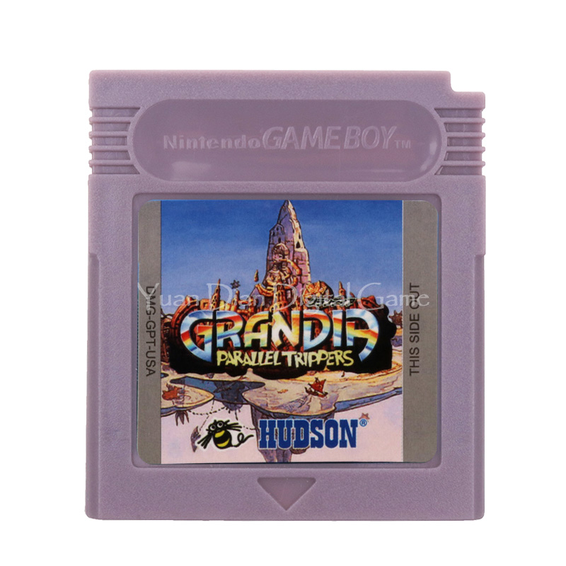 For Nintendo GBC Video Game Cartridge Console Card Grandia Parallel Trippers English Language Version 1