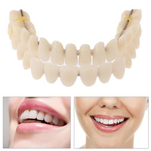 Prothèse dentaire en résine, 28 pouces, teinte supérieure et inférieure A2, fabrication artificielle préformée, outil de soins buccaux