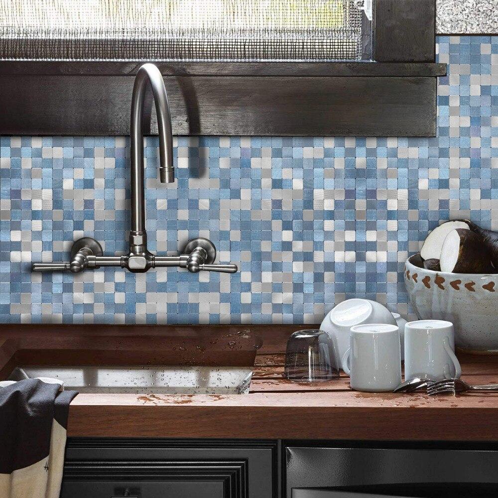 - 2020 Peel And Stick Tile Backsplash For Kitchen Wall Decor Metal