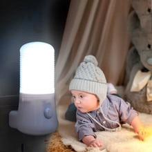 AC 110-220V светодиодный ночной Светильник ЕС/штепсельная вилка американского стандарта ночники, подарок на Рождество, подарок для детей, Спальня стенная розетка светильник домашняя декорационная лампа