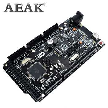 AEAK Mega2560 + WiFi R3 ATmega2560+ESP8266 32Mb memory USB-TTL CH340G. Compatible for Arduino Mega NodeMCU For WeMos ESP8266 - DISCOUNT ITEM  5% OFF All Category