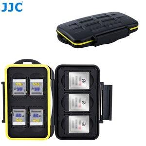 Image 1 - JJC Camera DSLR Thẻ Nhớ Chống Nước SD Thẻ XQD Hộp Bảo Quản Cho Canon EOS M10 1300D Nikon D5300 sony A5000 A5100 A6000