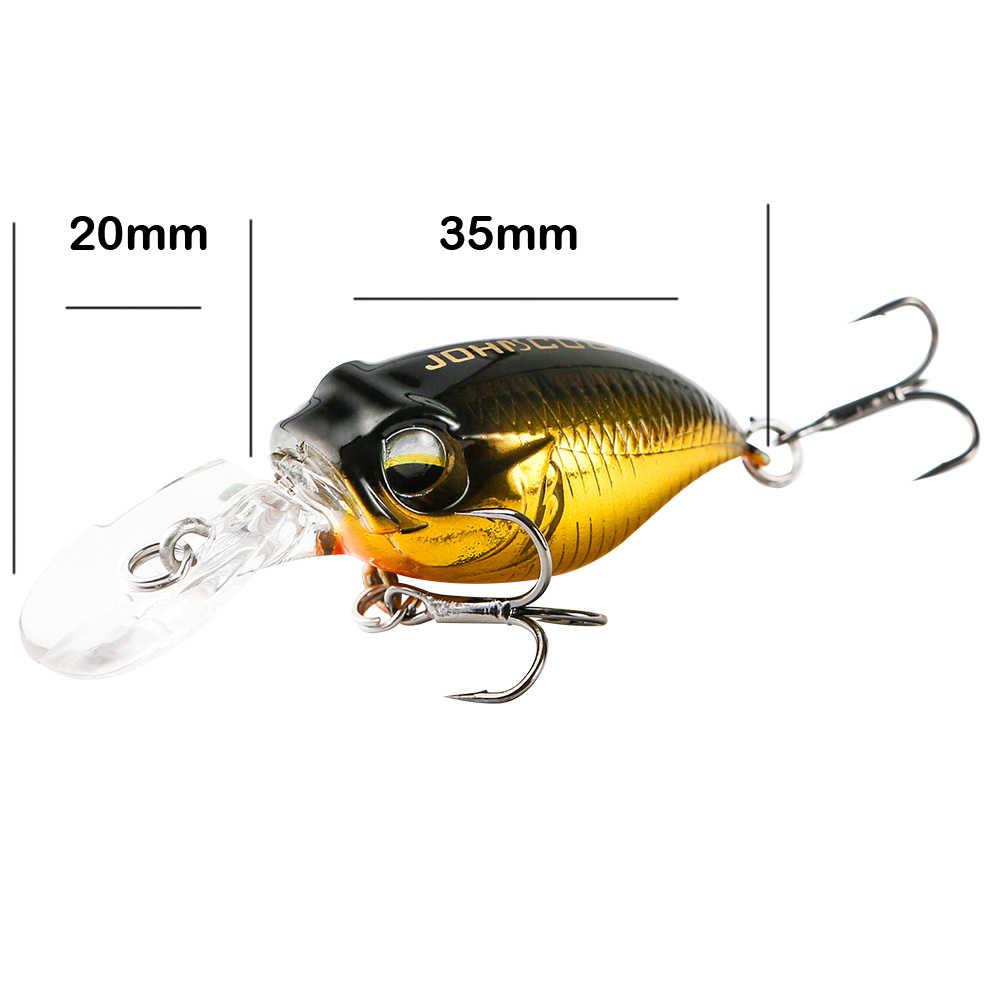JOHNCOO MINI SR-X GRIFFON Crankเหยื่อตกปลาเหยื่อตกปลา 55Mm 5.7GระงับBass Crankbait Swimbait Wobblerประดิษฐ์ปลาเทราท์เหยื่อ