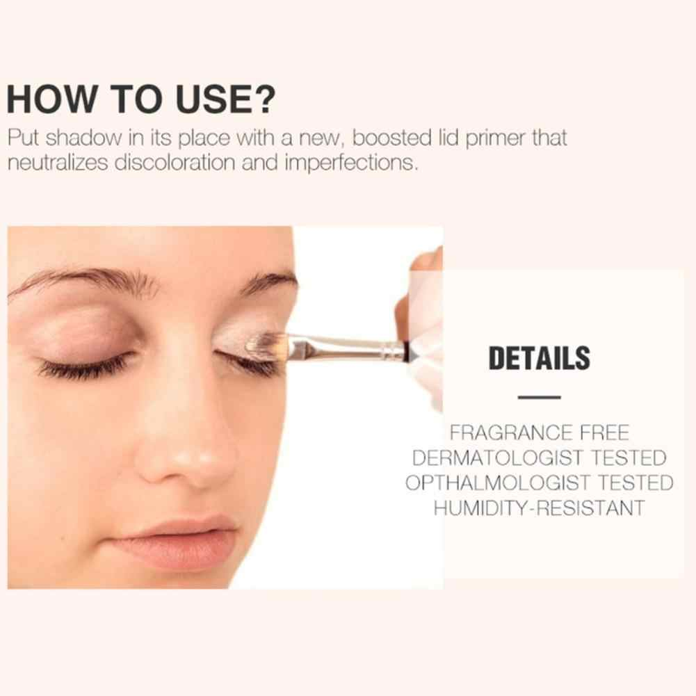 4 couleurs imperméable à l'eau visage outil professionnel apprêt pour les yeux maquillage longue durée fard à paupières Base crème correcteur
