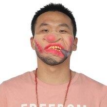 chungeng Masque Humoristique en Latex Humoristique pour Halloween et d/écoration de la Maison Big Nose.