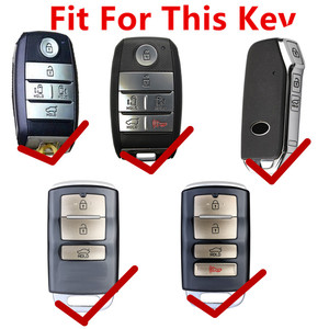 Image 3 - FLYBETTER אמיתי עור מפתח Case כיסוי עבור Kia K3/ריו/Ceed/Cerato/אופטימה/K5/sportage/סורנטו/K2/נשמה/סדונה/גרנד/קרנבל L17