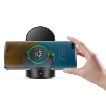 Super Fast Quick Charger Vertical Wireless Charger 40W with Cooling Fan for HUAWEI P40 Pro/Mate 30 for iPhone 11/X Phone