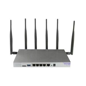 Image 3 - موزع إنترنت واي فاي قوي للغاية مع مودم الجيل الثالث 3G 4G مع فتحة للبطاقات Sim 1200Mbps Openwrt راوتر 802.11AC 4G Lte راوتر دعم PPTP L2TP