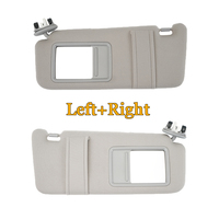 Gray Sun Visor For Toyota Camry 2007 2008 2009 2010 Camry 2011 With Vanity Lights Left Right Side